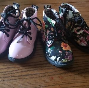 Two pairs of boots toddler 5